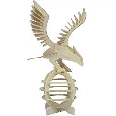 직소 퍼즐 3D퍼즐 / 나무 퍼즐 빌딩 블록 DIY 장난감 Eagle 나무 골드 모델 & 조립 장난감