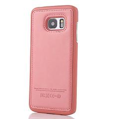 affärs läder ringer fallet för Samsung Galaxy s5 / S6 / S6 kant / s6 kant plus / S7 / S7 kant (blandade färger)