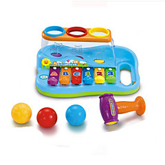 Puzzle Music Toy For Kids ABS Red / Blue / Yellow