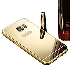 Luxury Aluminum Metal Mirror PC Back Case Cover For Samsung Galaxy Grand Prime/Core Prime