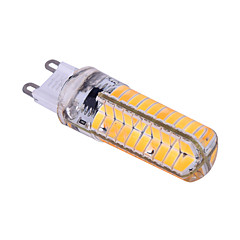 ywxlight® G9 regulável / e14 / G4 / BA15d 12w 80 SMD 5730 1200 lm branco morno / branco fresco lâmpada LED (110v / 220v)