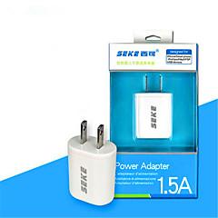 USB di ricarica veloce testa 1.5a uscita 5V smart phone universale