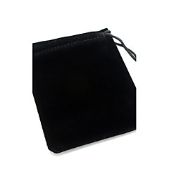 Black Fabric Jewelry Bag for Bracelet  Christmas Gifts