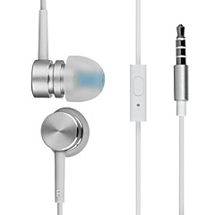 harber s-30 בתוך האוזן אוזניות מתכת בעל ביצועים גבוהים עם מיקרופון מרחוק עבור נגני mp3, Xiaomi ו- iPod