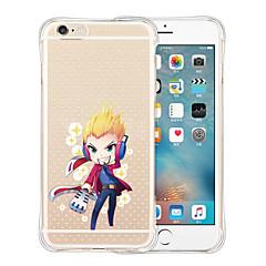 facciamolo questo caso molle trasparente posteriore in silicone per iPhone 5 / 5s (colori assortiti)