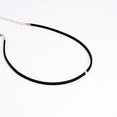 Modische Halsketten Anhängerketten Schmuck Party / Alltag / Normal Modisch Stoff Schwarz 1 Stück Geschenk