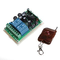 12v 2-csatornás vezeték nélküli távirányító jelfogó modul távirányító (input ac ac 85-260v)