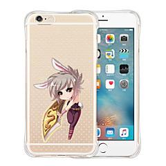 una spada rispecchia il suo proprietario morbido silicone trasparente posteriore per iPhone 5 / 5s (colori assortiti)