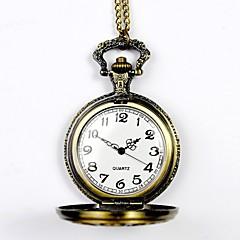 Unisex Pocket Watch Queen Zodiac Commemorative Bronze Hollow Retro Fashion Clamshell Pocket Watch