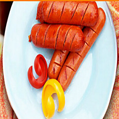 2PCS Manual Hot Dog Slicer Cutting BBQ Fancy Sausage Cutter Kitchen Spiral Cutting Tools