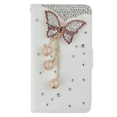 For iPhone 6 Case / iPhone 6 Plus Case Card Holder / with Stand / Flip Case Full Body Case Butterfly Hard PU LeatheriPhone 6s Plus/6 Plus