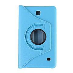 360 Degree Rotating PU Leather Smart Case For Samsung Galaxy Tab A 7.0/Tab 4 7.0/Tab 3 7.0/Tab 3 Lite