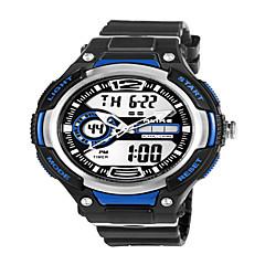 Alike®Men's Dual Time Zone Outdoor Sports Multifunction Waterproof Wrist Watch Assorted Colors Cool Watch Unique Watch