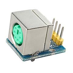 ps2-interface module ps2 muis toetsenbord ps2 apparaat module socket