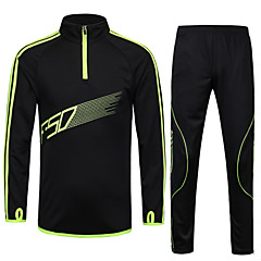 The New Adult Children Long-sleeved Football Clothes Suit leg Trousers Football Training Suit