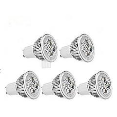 5W GU10 Focos LED / Luces PAR MR16 1 350-400 lm Blanco Cálido / Blanco Fresco AC 85-265 V 5 piezas