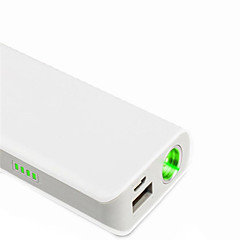 lt-oz11 power bank oplaadbare groene laser pointer (1mw, 532nm, 1x18650, wit)