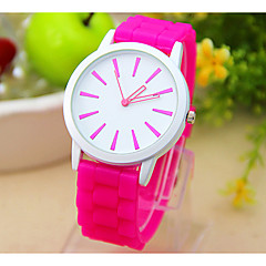 Women's Geneva Silicone Watch(Assorted Colors) Cool Watches Unique Watches