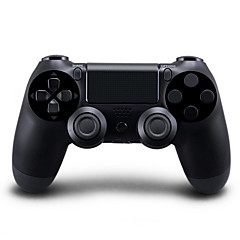 Wireless Bluetooth Gamepad Game Controller for PS4 (Black Color, Factory-OEM)