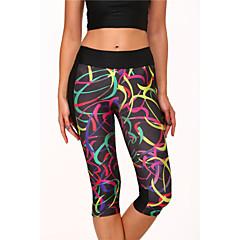 Løb 3/4 Tights / Crop-tights / Bukser / Leggins / Underdele Dame Åndbart / Høj Åndbarhed (>15,001g) / Hurtigtørrende / Komprimering