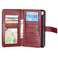 pu teljes test esetében 9 kártya Sony Xperia Z3 / Z4 / Z5 / Z5 compact / m4 (vegyes színek)