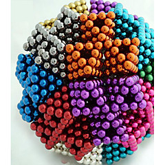 Magnet Toys 216 Pieces 5 MM Magnet Toys Building Blocks Magnetic Balls Executive Toys Puzzle Cube For Gift