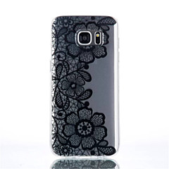 Three Flowers Pattern TPU Material Phone Case for Galaxy S4/S4Mini/S6/S6 edge/S6 edge plus/S7/S7 edge