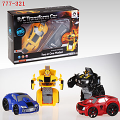 HappyCow 777-321 smart remote control Mini Flashing 2-in-1 rc car electronics robots