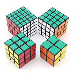 Magic Cube IQ Cube Shengshou Two-layer / Three-layer / Four-layer / Five-layer Smooth Speed Cube Magic Cube puzzle White PVC