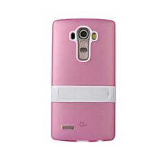 Mert LG tok Ütésálló / Állvánnyal Case Hátlap Case Páncél Kemény Szilikon LG LG G4