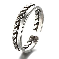 Ringen Vintage Dagelijks / Causaal Sieraden Sterling zilver Dames / Heren Midiringen / Bandringen / Teenring / Knokkelring 1 stuks,