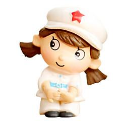 흰색, 회색 모델& 건물 장난감 인형 장난감 소녀