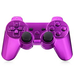 consola de juego del gamepad del bluetooth inalámbrico para PS3 Goldplated (multicolor)
