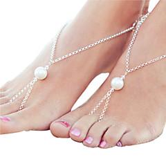 Kadın Ayak bileziği/Bilezikler alaşım Eşsiz Tasarım Moda Ayarlanabilir Çok güzel minimalist tarzı kostüm takısı Mücevher Mücevher