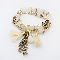 Alloy / Glass Bracelet Chain & Link Bracelets / Charm Bracelets Wedding / Party / Daily / Casual 1pc