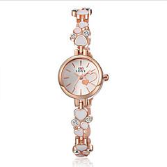Women's SOXY Love Luxury Brand Quartz Dress Wristwatch Diamond Dial Fashion Bracelet Watches(Assorted colors) Cool Watches Unique Watches