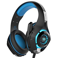 GM-1 3.5mm Game Gaming Headphone Headset Earphone Headband with Microphone LED Light for PS4/XBOX ONE/PC/IPhone