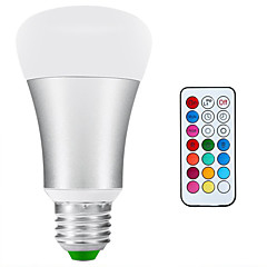 E26/E27 Bombillas LED de Globo A80 1 COB 900lm-1200lm lm Blanco Natural RGB Regulable Decorativa Impermeable AC 85-265 V 1 pieza