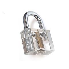 bortskåret inside view vanskelig praksis gjennomsiktig hengelås lock opplæring ferdighet plukke utsikt hengelås for låsesmed