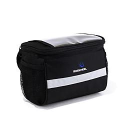 ROSWHEEL Fahrradtasche 4.5LFahrradlenkertasche Wasserdichter Reißverschluß tragbar Feuchtigkeitsundurchlässig Stoßfest Tasche für das Rad
