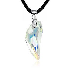 Herre Dame Halskædevedhæng Krystal Dyreformet Ulv Krystal Holdbar Mode Smykker Til Daglig Afslappet