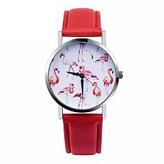 Flamingo Watch Women Watches Leather Unique Jewelry Accessories Gift Idea Spring Unique Custom Ladies Birds Trendy