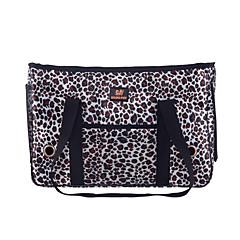 Saco do cão pet transportadora estilo do leopardo para cães e gatos