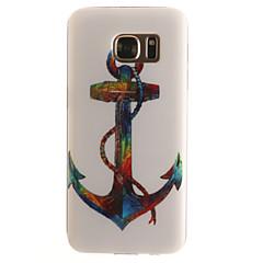 Voor Samsung Galaxy S7 Edge Patroon hoesje Achterkantje hoesje Anker Zacht TPU SamsungS7 edge / S7 / S6 edge / S6 / S5 Mini / S5 / S4