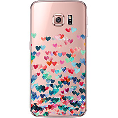 Mandala Love Pattern TPU Soft Back Cover Case for Galaxy S6/S6 Edge/Galaxy S7/ S6 edge Plus/ S7 edge