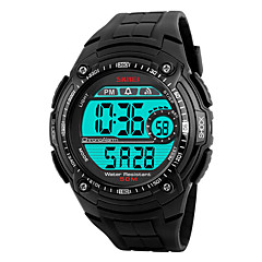 Skmei® Men's Outdoor Sports LED Digital Multifunction Wrist Watch 30m Waterproof Assorted Colors