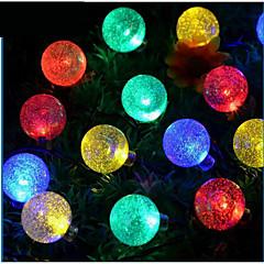 1 LED-aurinkokennovalaisimet 100 lm Lämmin valkoinen / Neutraali valkoinen SMD 3528 Vedenkestävä <5V V 1 kpl