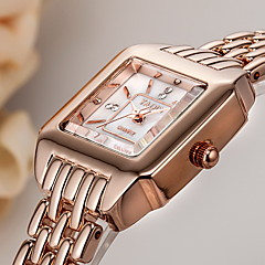 Women's Dress Watch Bracelet Watch Quartz Japanese Quartz / Alloy Band Casual Elegant Silver Rose Gold Brand