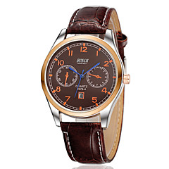 Men's Three Eyelids With Calendar Casual Watch