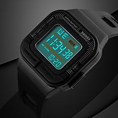 Herren / Damen / Unisex Sportuhr digital LCD / Kalender / Chronograph / Wasserdicht / Alarm / leuchtend / Stopuhr Caucho BandSchwarz /